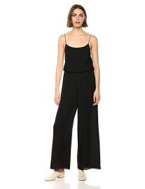 Theory Women s Ribed Wide Leg Jumpsuit at Amazon