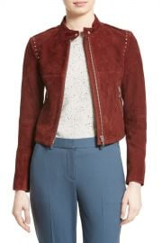 Theory   Bavewick Suede Jacket   Nordstrom Rack at Nordstrom Rack