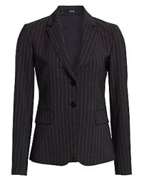 Theory - Carissa Pinstripe Suit Jacket at Saks Fifth Avenue