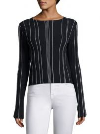 Theory - Hankson Prosecco Striped Blouse at Saks Fifth Avenue