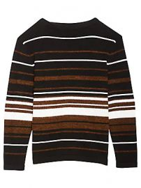 Theory - Hilles Stripe Cashmere Sweater at Saks Fifth Avenue