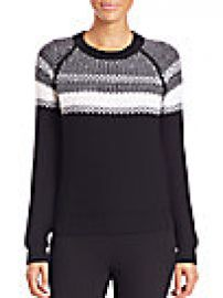 Theory - Larus Canon Striped Wool Sweater at Saks Off 5th