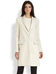 Theory - Lavanya Gazetter Calf Hair Coat at Saks Fifth Avenue