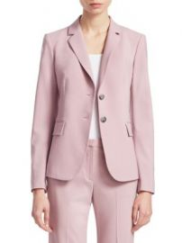 Theory - Nichelle Wool Blazer at Saks Fifth Avenue