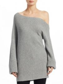 Theory - One-Shoulder Wool Sweater at Saks Fifth Avenue