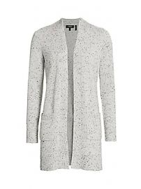 Theory - Open-Front Cashmere Cardigan Sweater at Saks Fifth Avenue