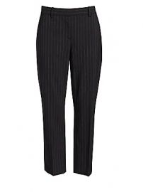 Theory - Treeca Pinstripe Suit Pants at Saks Fifth Avenue
