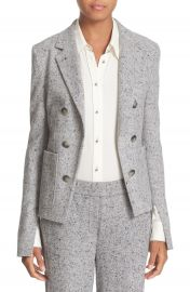 Theory  Jontia K Parkdale  Double Breasted Cutaway Front Suit Jacket at Nordstrom