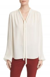 Theory Bernetta Silk Blouse at Nordstrom