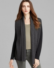 Theory Cardigan - Ashtry W Lofty Cashmere Waffle at Bloomingdales