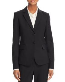 Theory Carissa Wool-Blend Blazer Women - Bloomingdale s at Bloomingdales