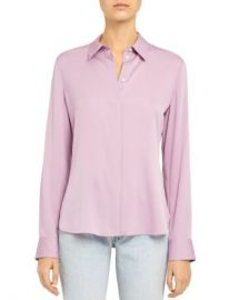 Theory Classic Fitted Shirt Women - Bloomingdale s at Bloomingdales