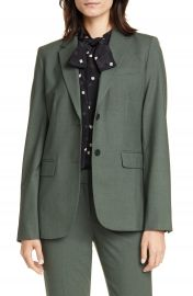 Theory Classic Stretch Wool Jacket   Nordstrom at Nordstrom