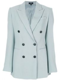 Theory Double Breasted Blazer  731 - Buy AW17 Online - Fast Global Delivery  Price at Farfetch