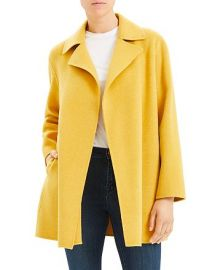 Theory Double Faced Overlay Coat at Bloomingdales