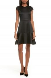 Theory Essential Flare A-Line Dress at Nordstrom