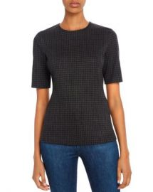 Theory Fitted Houndstooth Top Women - Bloomingdale s at Bloomingdales
