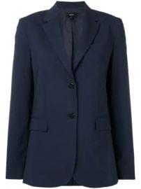 Theory Fitted Tailored Blazer  - Farfetch at Farfetch