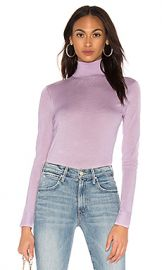 Theory Foundation Turtleneck Sweater in Pink Lilac from Revolve com at Revolve
