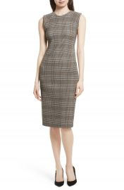 Theory Hadfield B Power Sheath Dress at Nordstrom