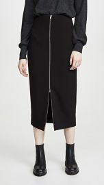 Theory High Waist Zip Skirt at Shopbop