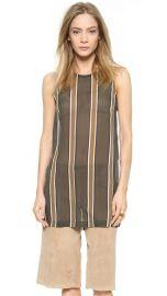 Theory Latter Stripe Pinga Silk Top at Shopbop