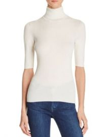 Theory Leenda B Merino Wool Turtleneck Top Women - Bloomingdale s at Bloomingdales