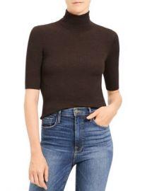 Theory Leenda Regal Wool Turtleneck Top Women - Bloomingdale s at Bloomingdales