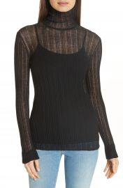 Theory Lory Sheer Turtleneck   Nordstrom at Nordstrom