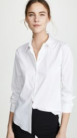 Theory Luxe Tenia Button Down Blouse at Shopbop