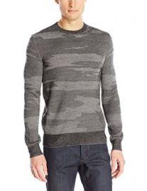 Theory Menand39s Asli Geysor Camouflage Sweater at Amazon