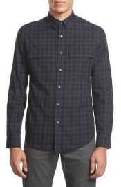 Theory Mikon Trim Fit Sport Shirt at Nordstrom