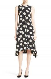 Theory Nophella B Harper Print Silk Dress at Nordstrom