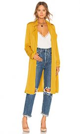 Theory Oaklane Trench Coat in Pollen from Revolve com at Revolve