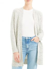 Theory Open-Front Belted Cardigan at Neiman Marcus
