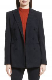 Theory Pinstripe Power Blazer at Nordstrom
