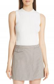 Theory Pointelle Knit Shell   Nordstrom at Nordstrom