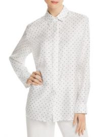 Theory Printed Silk Shirt Women - Bloomingdale s at Bloomingdales
