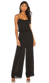 Theory Rib Waistband Jumpsuit in Black from Revolve com at Revolve