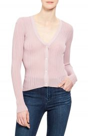 Theory Ribbed Cardigan   Nordstrom at Nordstrom