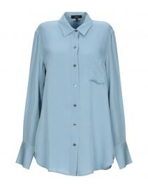 Theory Silk Shirt at Yoox