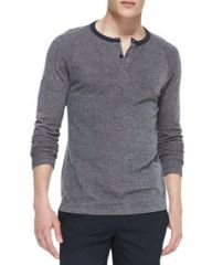 Theory Soft-Pique Henley at Neiman Marcus