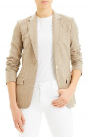 Theory Staple Wool  amp  Silk Blend Blazer   Nordstrom at Nordstrom