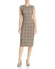 Theory Stretch Wool Sheath Dress at Bloomingdales