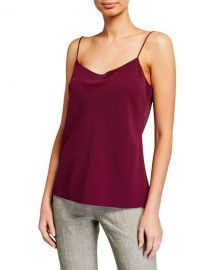 Theory Teah Urban Crepe Cami at Neiman Marcus