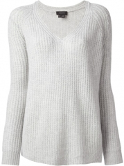 Theory V-neck Sweater - Francis Ferent at Farfetch