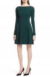 Theory Valentina Scuba Knit A-Line Dress at Nordstrom
