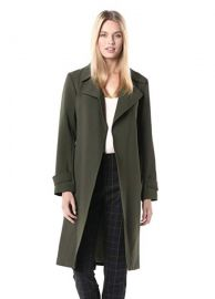 Theory Womens Oaklane Trench Cl at Amazon