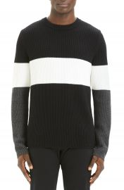 Theory Zoren Regular Fit Colorblock Cashwool   Pullover   Nordstrom at Nordstrom