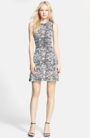 Theory and39Alancy Cand39 Knit A-Line Dress at Nordstrom